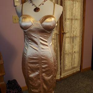Size Medium Curve Hugging Dress
